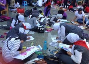 """بمشاركة 105 مدارس.. """"لمحات من الهند"""" مسابقة لأطفال بورسعيد"""