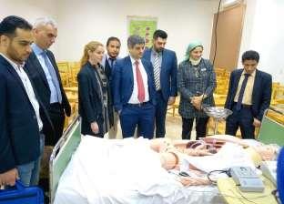 منح دراسية في ألمانيا لطلاب المعهد الفني للتمريض بمؤسسة الكبد المصري