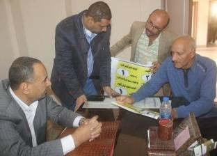 """بالصور  """"كفر الشيخ"""" تعمم ترقيم """"التوك توك"""" على قرى دسوق"""