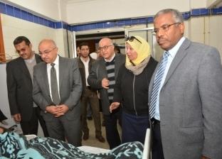 رئيس جامعة أسيوط: زيادة الطاقة الاستيعابية لمستشفى أم القصور الجامعي