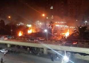 السيطرة على حريق قرب شريط السكة الحديد في بني سويف