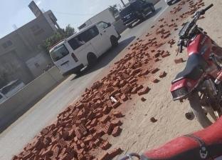 """إصابة 7 أشخاص في انقلاب أتوبيس على طريق """"أبو حماد - بلبيس"""""""