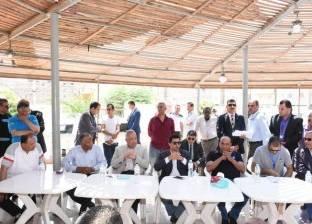 وزير الشباب والرياضة يتفقد مركز شباب بلبيس في الشرقية