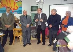 """محافظ الإسكندرية يتابع فعاليات مبادرة """"معاً لتعليم أفضل"""""""