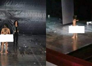 """مخرج مسرحية """"يا كبير"""" في حواره لـ""""الوطن"""": مشهد التعري لم يكن ارتجالا"""