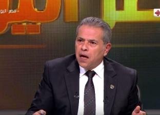 """توفيق عكاشة: """"نفسي أركب عجل زي الرئيس"""""""