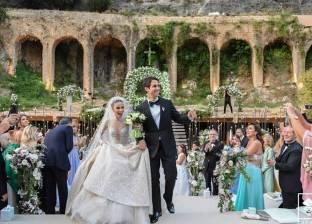 لارا إسكندر تحتفل بزفافها على مصري في بيروت