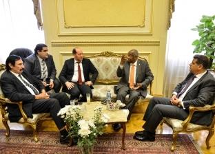 """بالصور  سفير أنجولا بالقاهرة ضيف """"أفريقية النواب"""""""