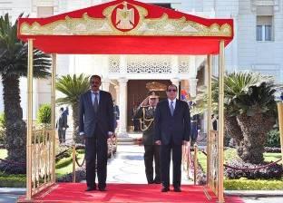 """""""السيسي"""" يؤكد إحلال السلام والتصدي للتحديات المشتركة وبمقدمتها الارهاب"""