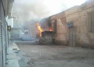 """""""الحماية المدنية"""" تسيطر على حريق في محول كهرباء بشبرا الخيمة"""