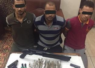 بالصور| ضبط عناصر خطرة في حملة أمنية مكبرة بكفر الشيخ