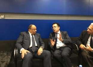 """""""شعراوي"""" يصل مراكش للمشاركة في القمة الثامنة للمدن والحكومات الأفريقية"""