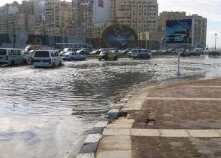 """""""صرف الإسكندرية"""": المحافظة تواجه أمطارا غزيرة.. ومستعدون للنوات"""