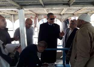 حملة مكبرة على المعديات النيلية بشبرا الخيمة