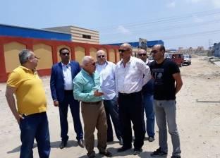 محافظ بورسعيد يتفقد المنطقة الصناعية