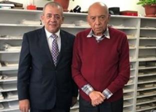 رائد زراعة الكلى في مصر يستقبل رئيس نادي قضاة مجلس الدولة