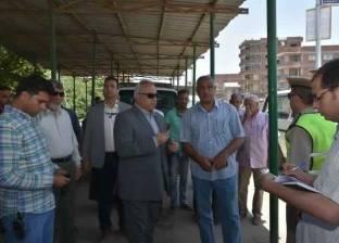 محافظ الشرقية يتفقد موقف الزقازيق أبو حماد لمتابعة تطبيق التعريفة