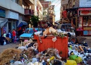 بعد انتهاء مولد الدسوقي.. رفع 150 طن قمامة من شوارع دسوق بكفر الشيخ