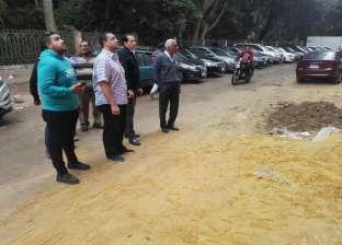 رئيس حي العجوزة يطالب الشرطة بدعمه في حملات الإزالة