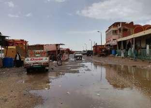 سقوط أمطار متوسطة على حلايب وشلاتين