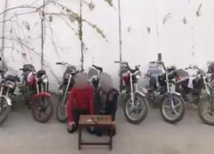 ضبط تشكيل عصابي تخصص في سرقة الدراجات النارية ببورسعيد
