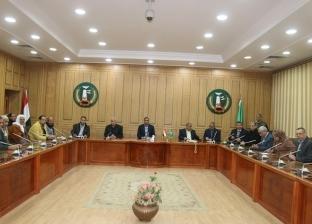 سكرتير عام محافظة المنوفية يجتمع بوفد نقابة الفلاحين