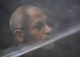 """10 يناير.. الحكم على بديع وآخرين في قضية """"أحداث مسجد الاستقامة"""""""
