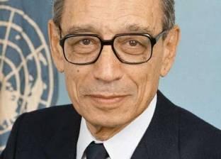 """مذكرات بطرس غالي توافق حديث """"الفقي"""": مبارك لم يحبذ ترشحي للأمم المتحدة"""
