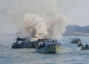 بحرية الاحتلال تعتدي على صيادين فلسطينيين ومراكبهم في بحر غزة