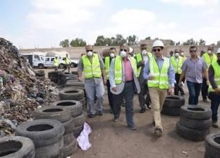 محافظ الإسماعيلية: إنفاق 15 مليون جنيه على مصنع تدوير القمامة بأبوبلح