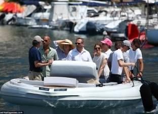 """بالصور  يخت ستيف جوبز يبحر تحت قيادة """"صديق أرملته"""""""