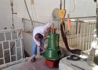 انتهاء أعمال نظافة بيارة محطة صرف فايد في الإسماعيلية