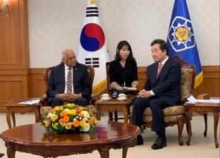 تفاصيل لقاء علي عبدالعال ورئيس الحزب الحاكم في كوريا الجنوبية