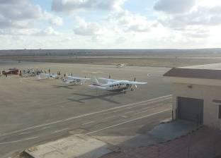"""هبوط 7 طائرات تشارك بـ""""رالي الطيران"""" في مطار مطروح الدولي"""