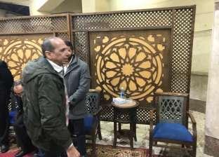 محمد الصاوي وعبدالرحيم كمال يقدمان واجب العزاء في محسن نصر بالمهندسين