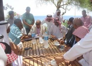 بالصور| بدو جنوب سيناء يطالبون المحافظ بتقنين أوضاع منازلهم