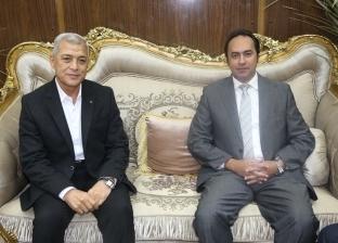 محافظ المنوفية يستقبل نائب وزير التربية والتعليم ورئيس الأبنية التعليمية