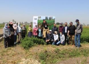 «القومي للجينات» ينفذ يوم حقل بمحطتي البحوث الزراعية «سدس» و«الجميزة»
