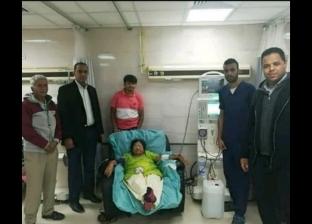 """هندية تخضع لجلسة غسيل كلوي في """"الأقصر العام"""": المرض لم يمنعني من زيارة مصر"""