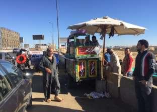المرور تواصل حملاتها الأمنية على الطريق الدائري