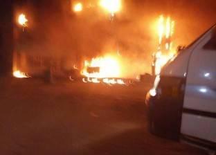 السيطرة على حريق محدود في محطة وقود بالدقهلية