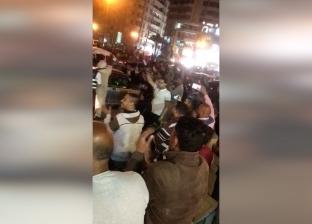 """بأغنية """"أبو الرجولة"""".. احتفالات في ميدان الأوبرا بنتيجة الاستفتاء"""