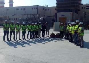 """المشاركون في افتتاح محطة كهرباء البرلس: """"شرف وفخر"""""""