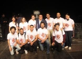 تكريم اسم أحمد راتب في الدورة الثالثة من مواسم نجوم المسرح الجامعي
