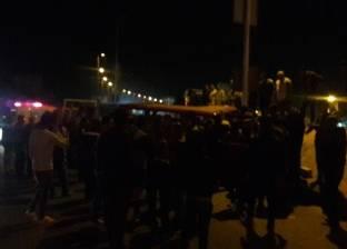 عاجل| مصرع شخص وتفحم جثته في تصادم 5 سيارات بالتجمع الخامس