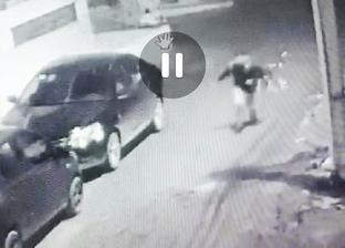 """""""كاميرا مراقبة منزلية"""" ترصد لحظة الاعتداء على طفلين في كفر الشيخ"""
