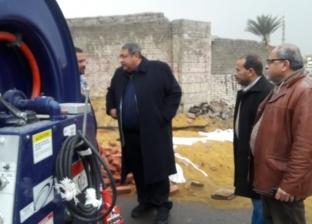 «صرف صحي القاهرة» تدفع بـ85 شفاط ومعدة لسحب مياه الأمطار من الشوارع