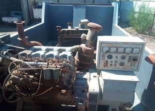وصول مولدات كهرباء عملاقة لدعم محطة العريش البخارية