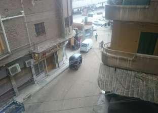 عواصف ترابية وأمطار بشوارع الغربية وصعوبة في حركة النقل والمواصلات