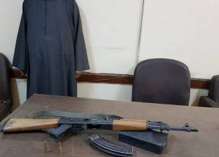 ضبط عاطل بنصر النوبة بحوزته بندقية و6 طلقات نارية في أسوان